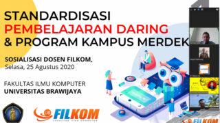 Standardisasi pembelajaran daring FILKOM UB