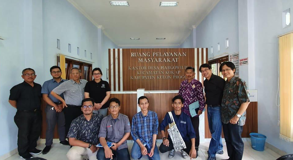 UB Collaborative KKN with UGM, ITB and the ENHANCE team